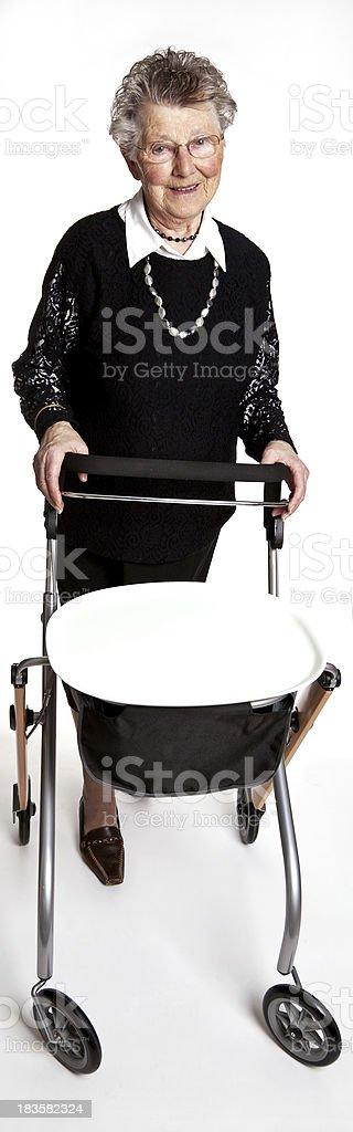 Elderly woman # 37 royalty-free stock photo