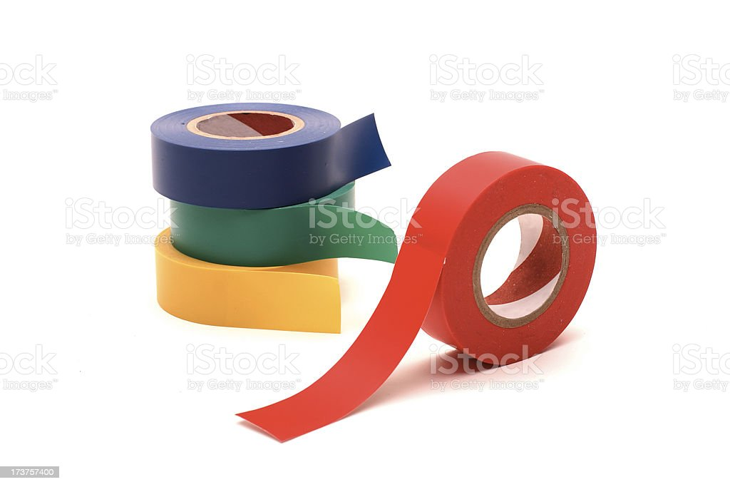 Elecrical Tape royalty-free stock photo