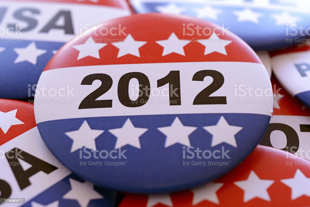 Election 2012 royalty-free stock photo