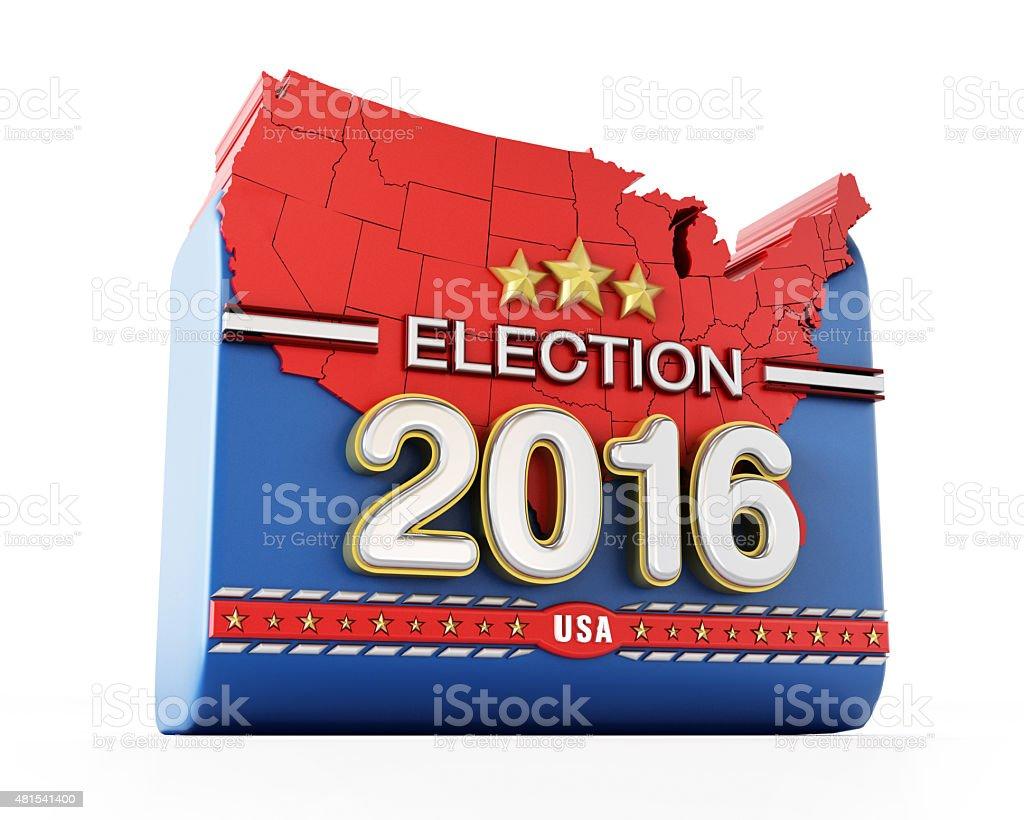 USA election 2016 stock photo
