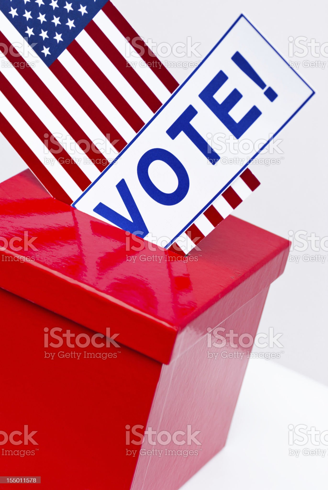 Election in USA royalty-free stock photo