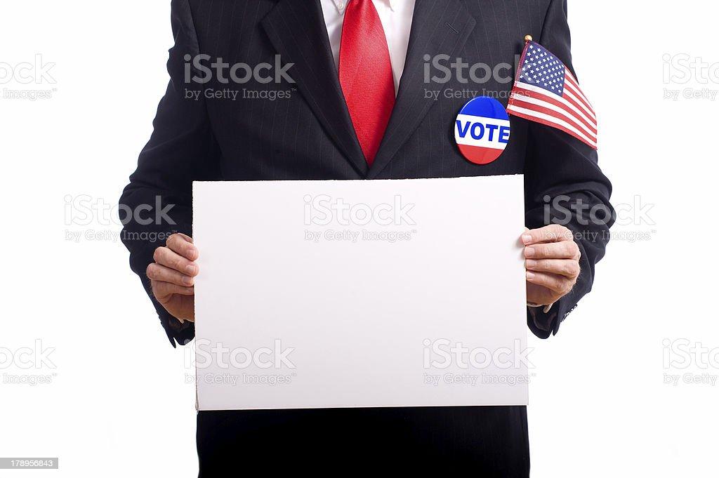 Election Symbols royalty-free stock photo