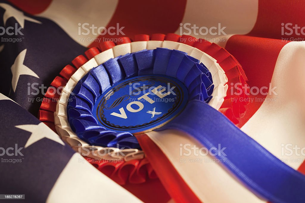 US Election Vote stock photo