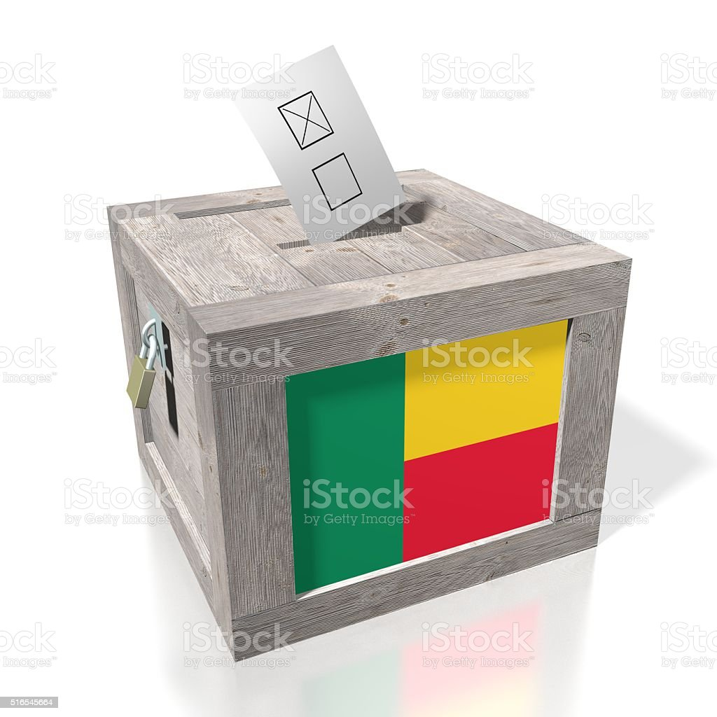 Election/ voting in Benin stock photo