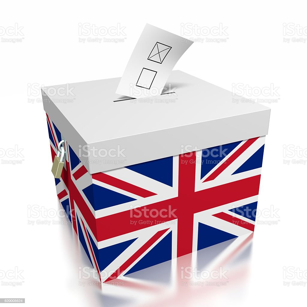 Election/ voting in United Kingdom stock photo