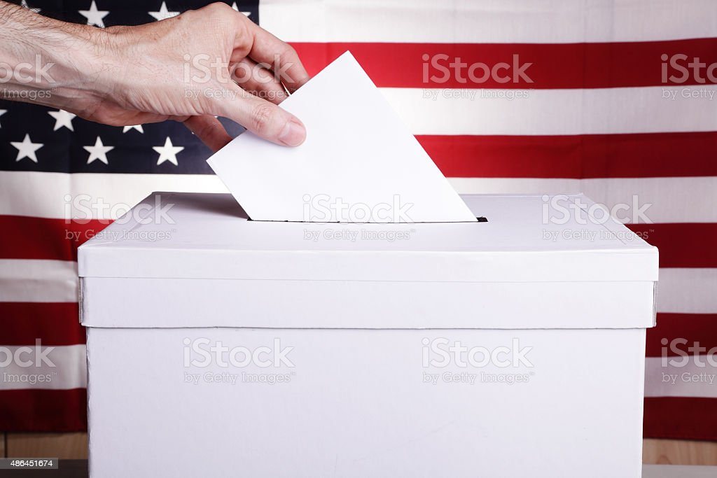 US Elections stock photo