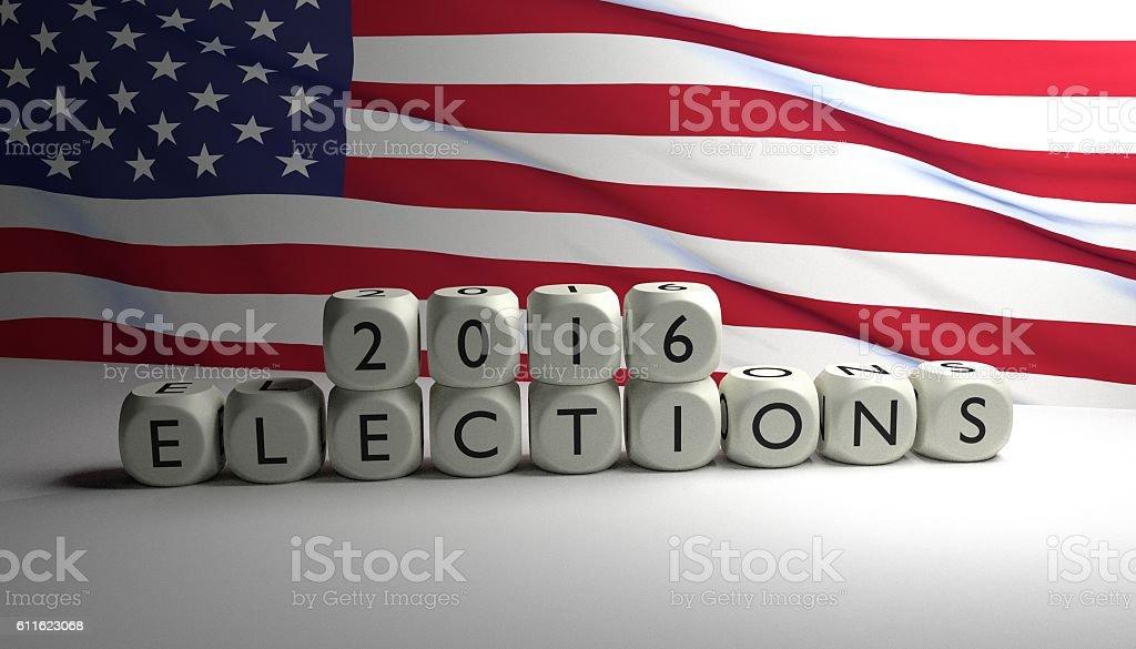 USA 2016 elections stock photo