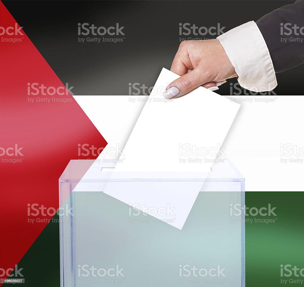 electoral vote by ballot stock photo