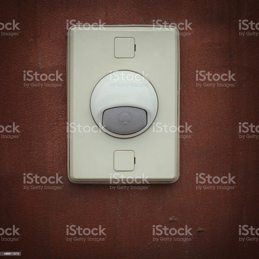 electric bell stock photo