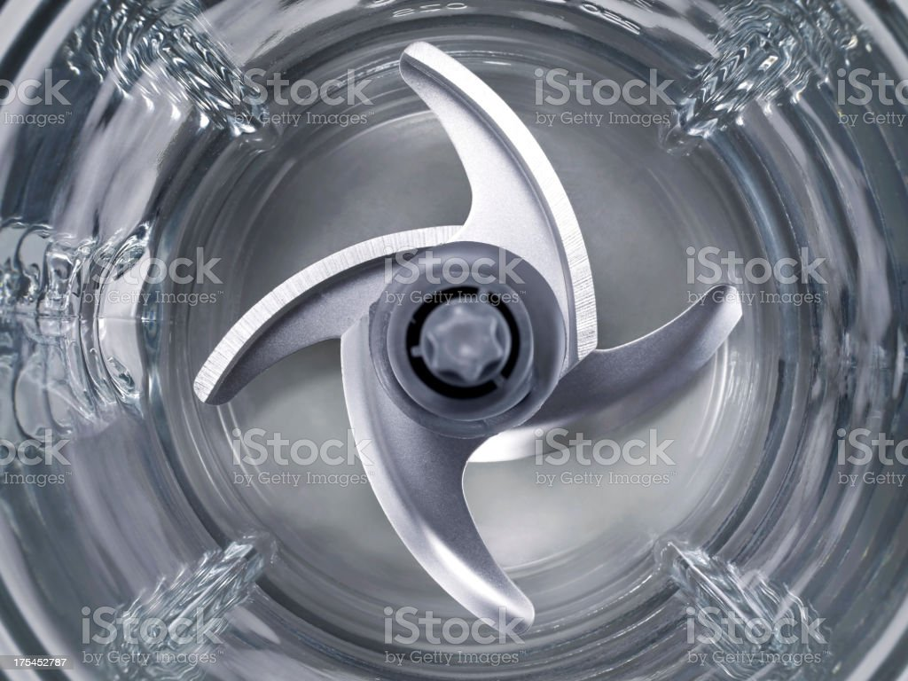 Electric Blender Blade stock photo