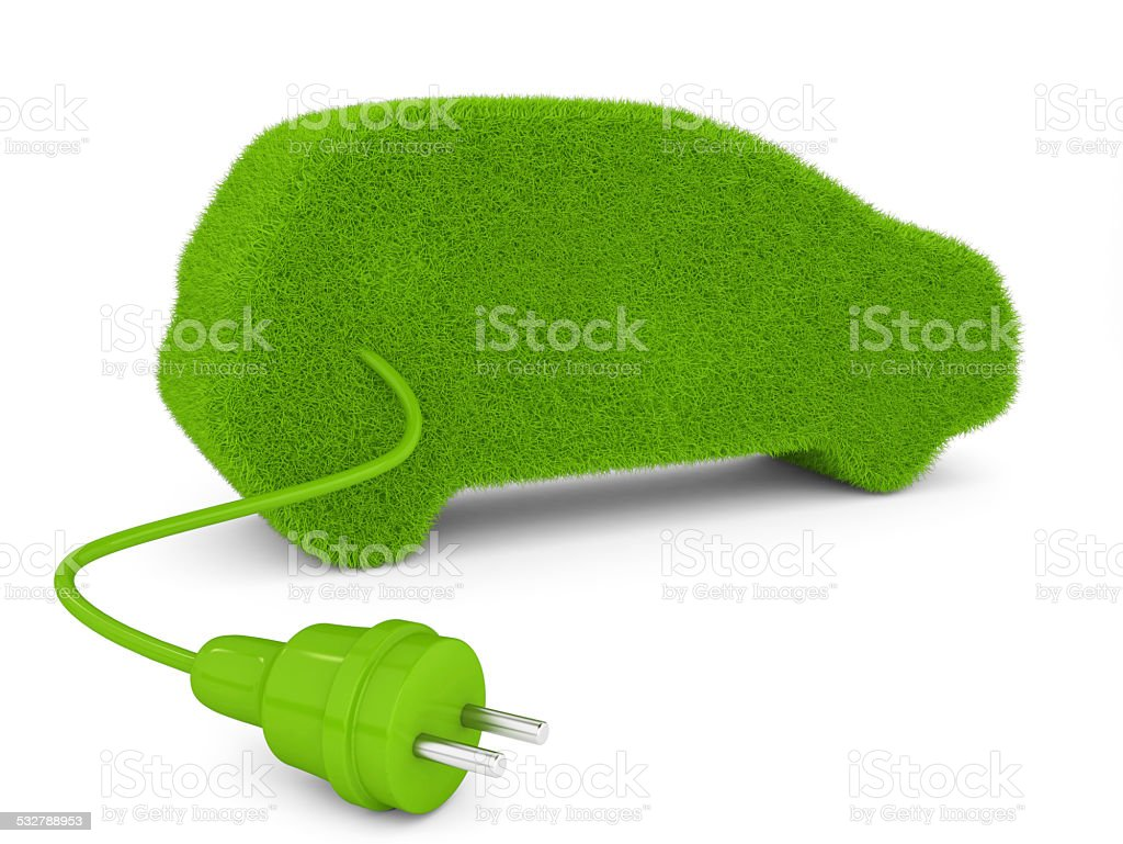 Electric Car Concepts stock photo