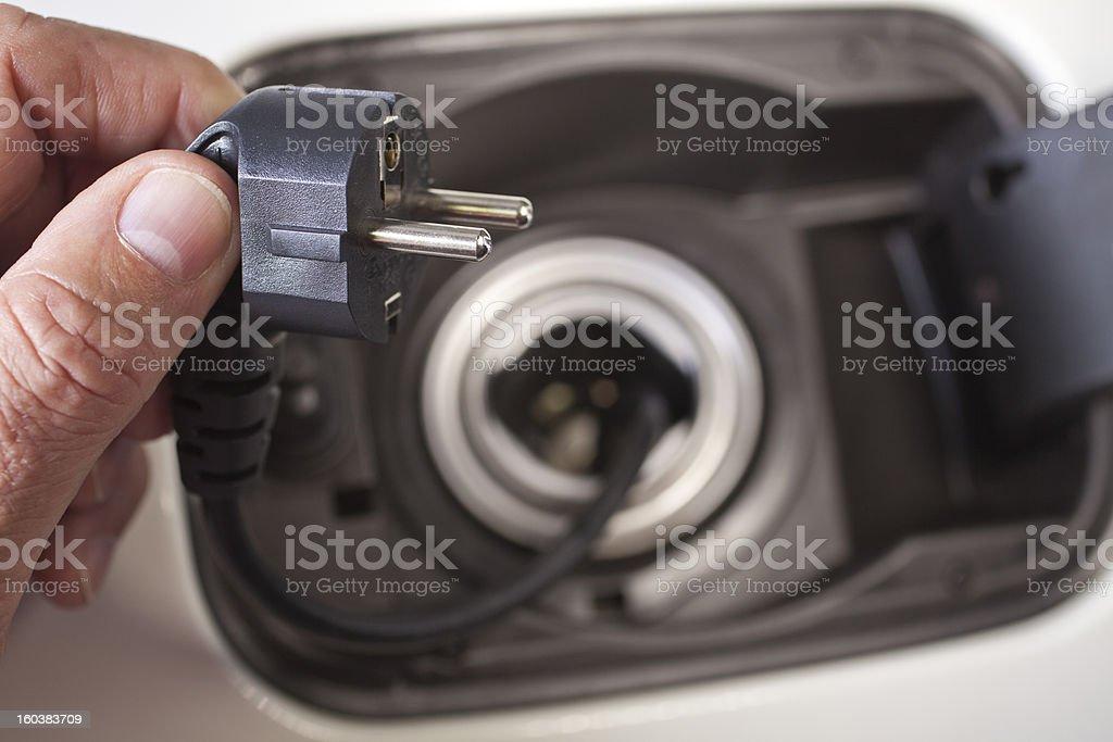 Electric Car stock photo