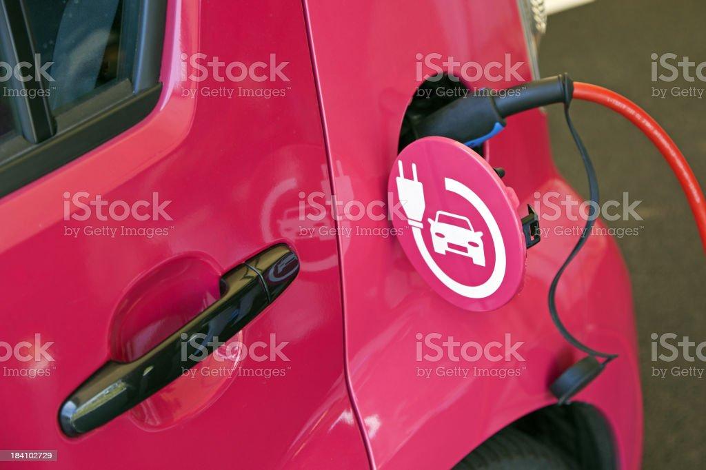 Electric car # 2 XXXL royalty-free stock photo