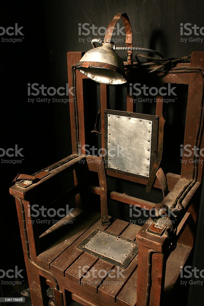 electric chair royalty-free stock photo