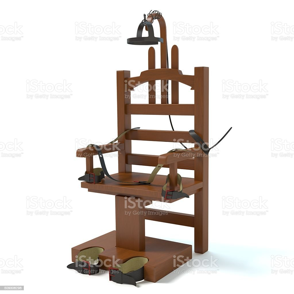 Electric Chair stock photo