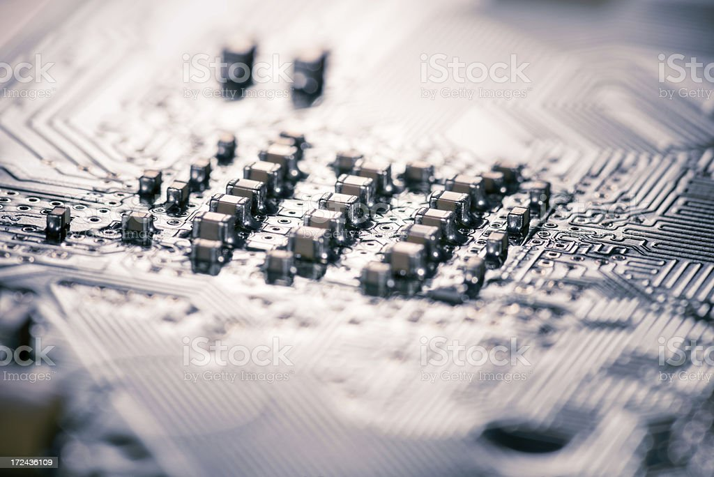 Electric city royalty-free stock photo