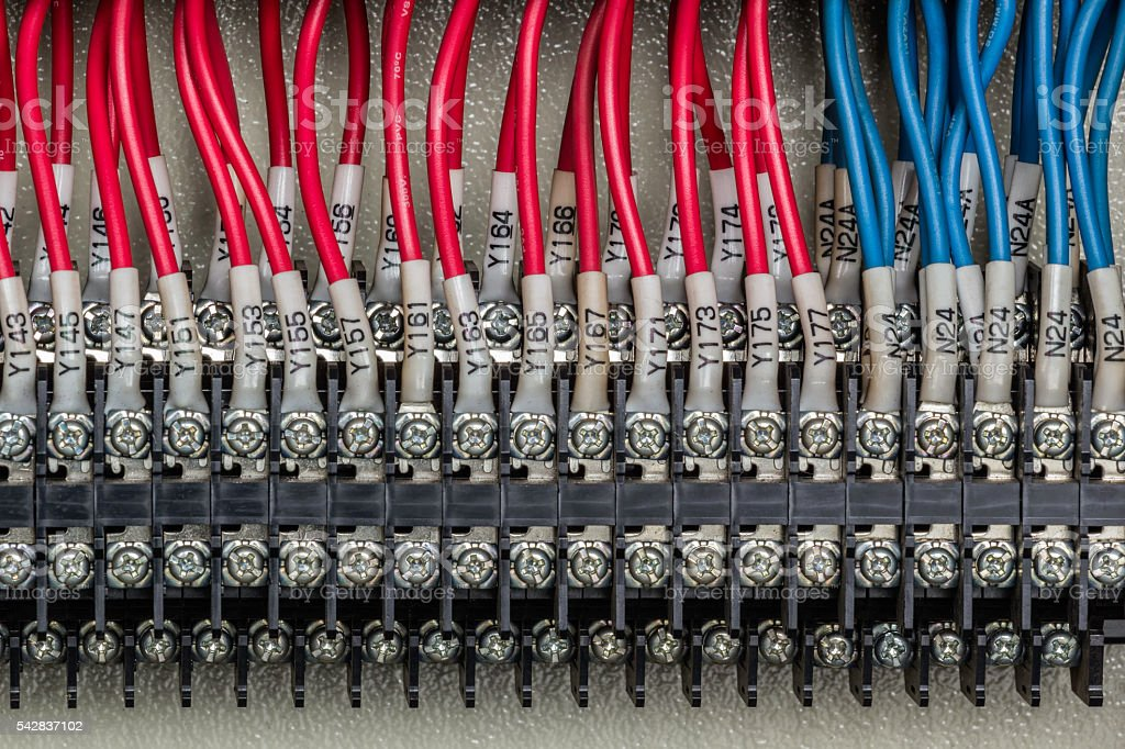 Electric connect stock photo