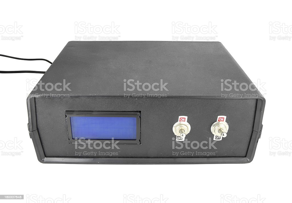 electric control box royalty-free stock photo