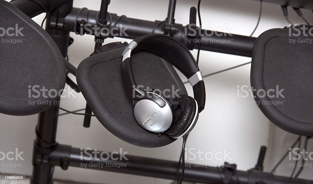 Electric Drums stock photo