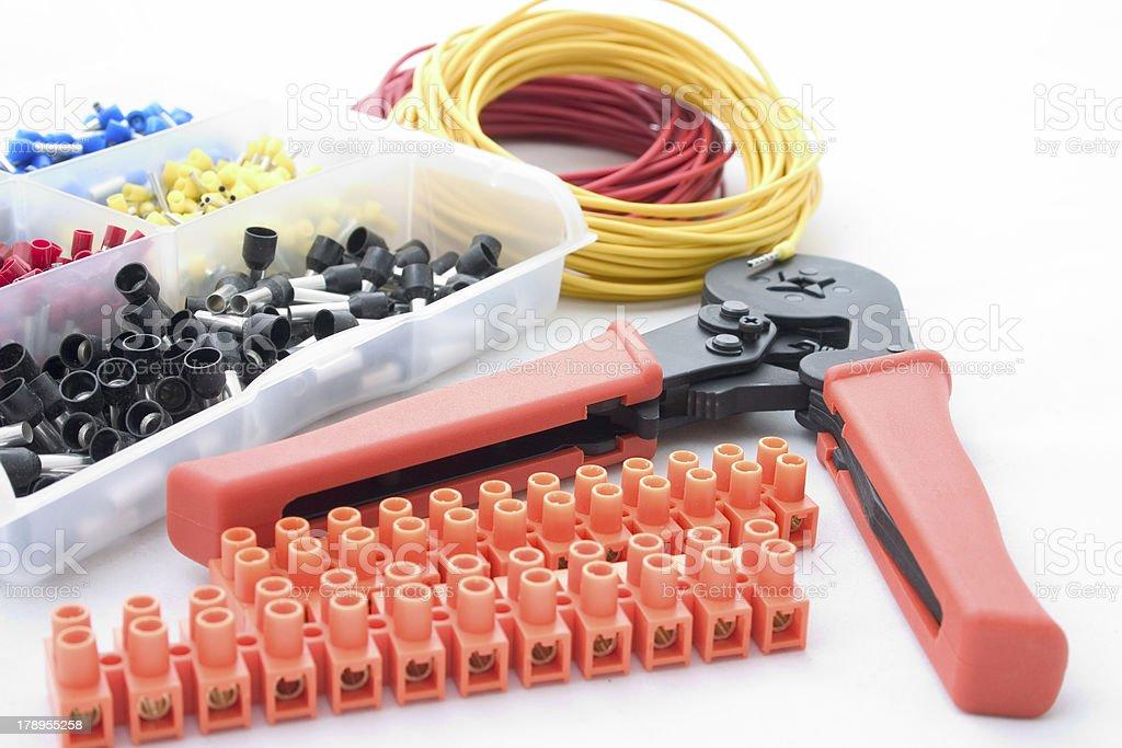 Electric equipment stock photo