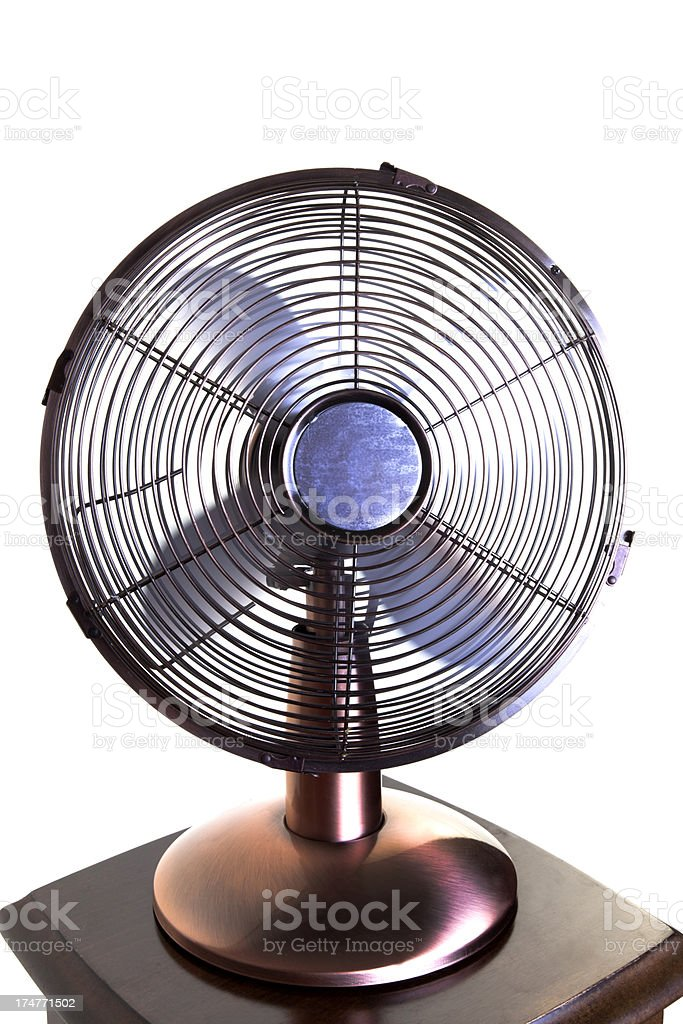 Electric fan royalty-free stock photo