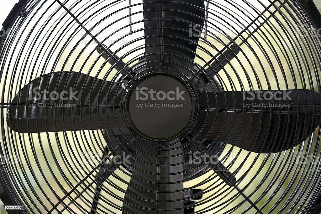 electric fan royalty-free stock photo