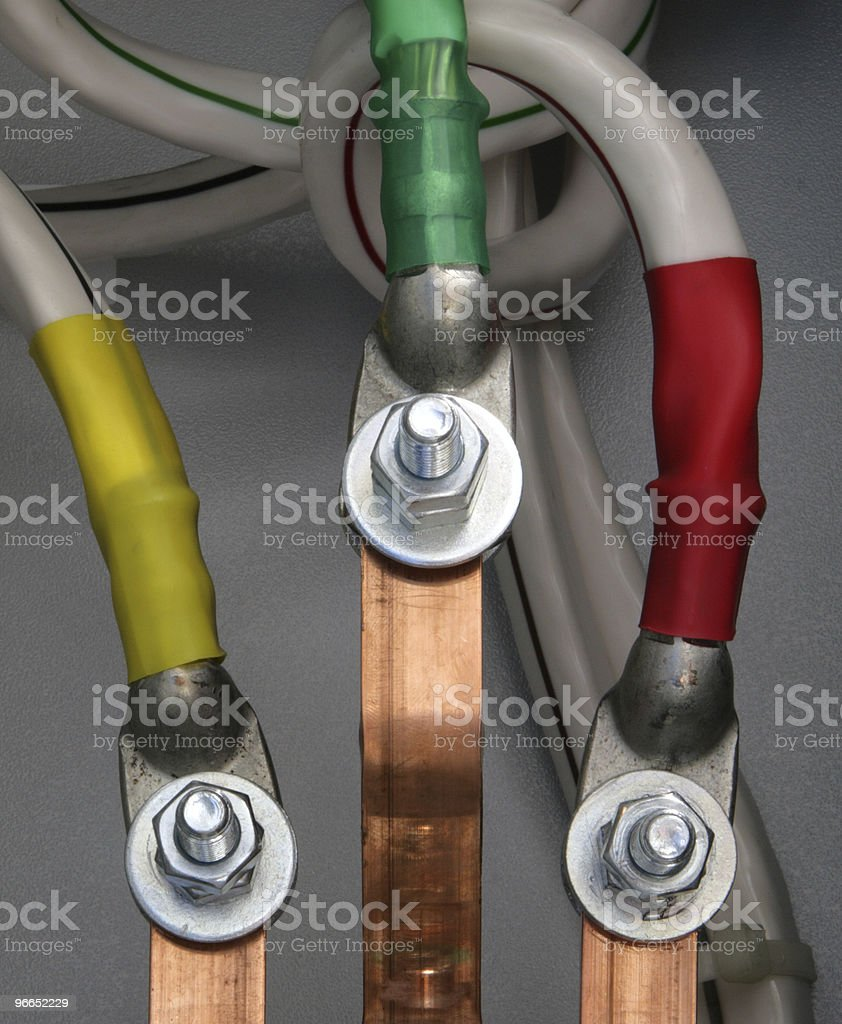 Electric feeder royalty-free stock photo