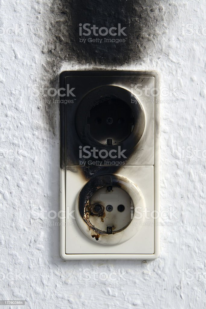 Electric firing royalty-free stock photo