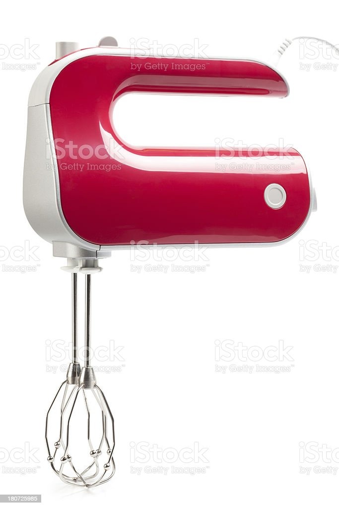 Electric food mixer stock photo