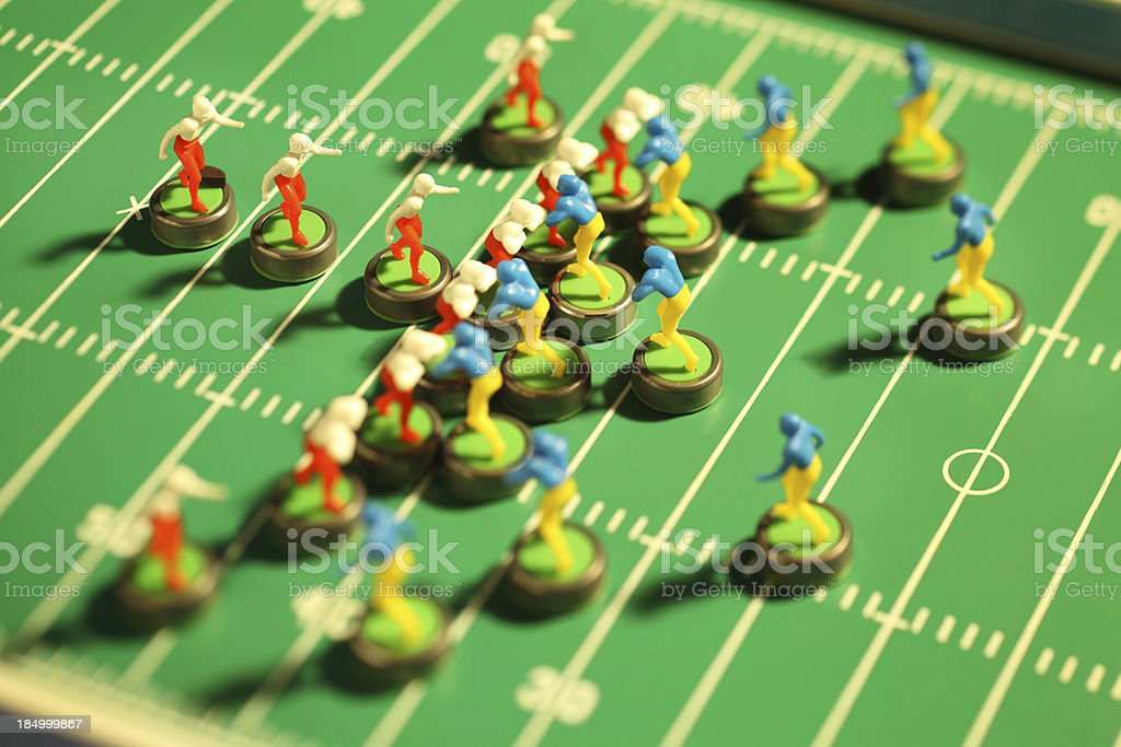Electric Football royalty-free stock photo