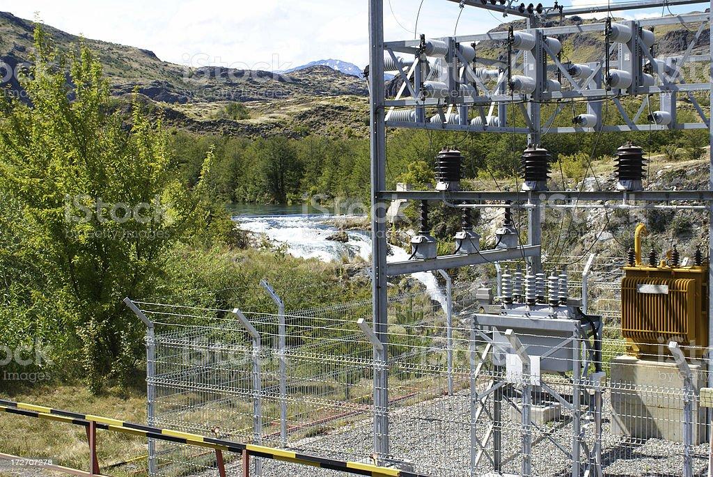 Electric Generator royalty-free stock photo