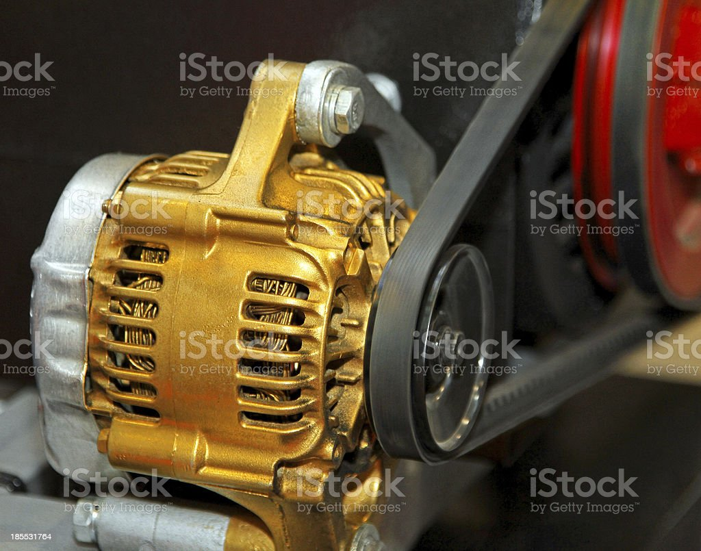 Electric generator royalty-free stock photo