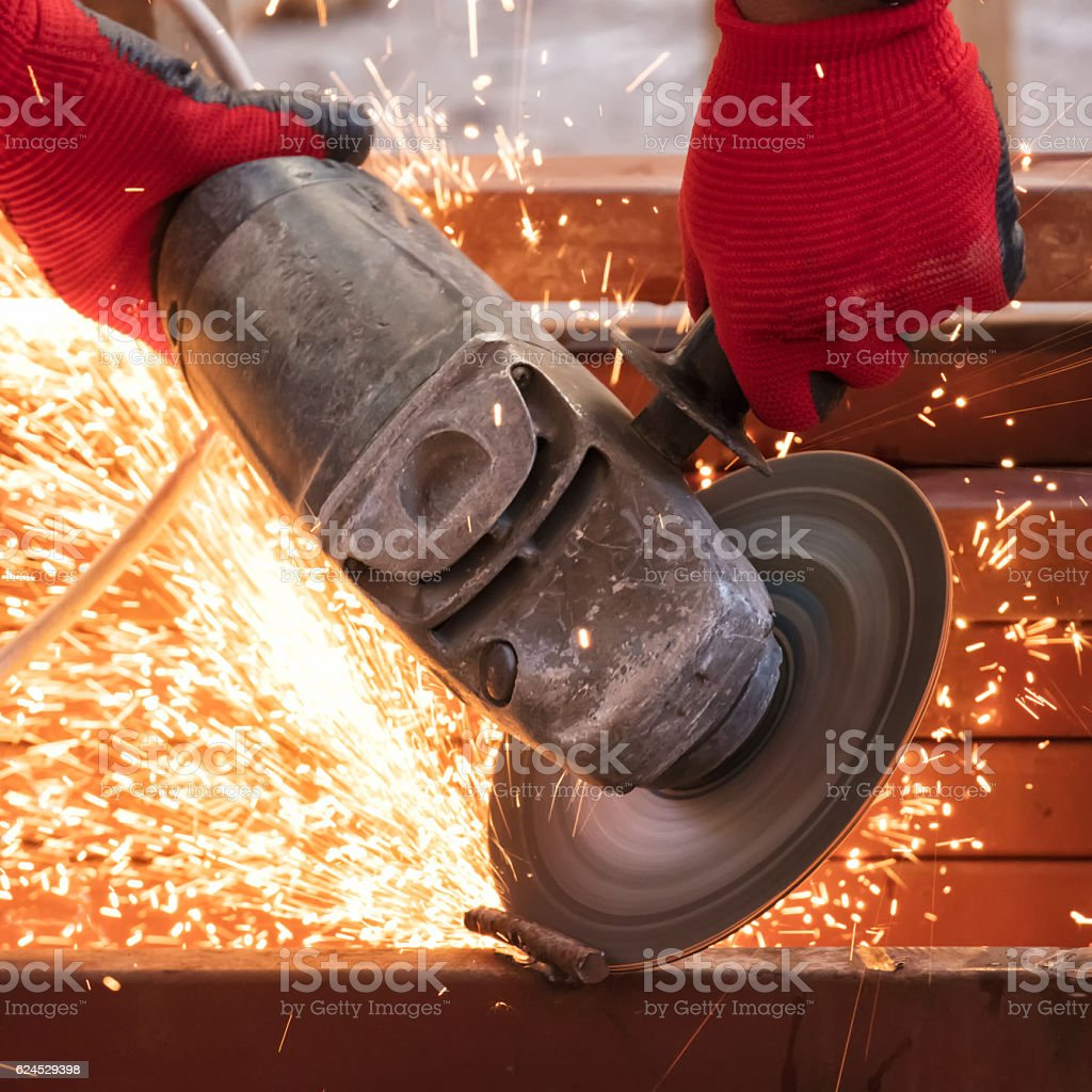 Electric grinder stock photo