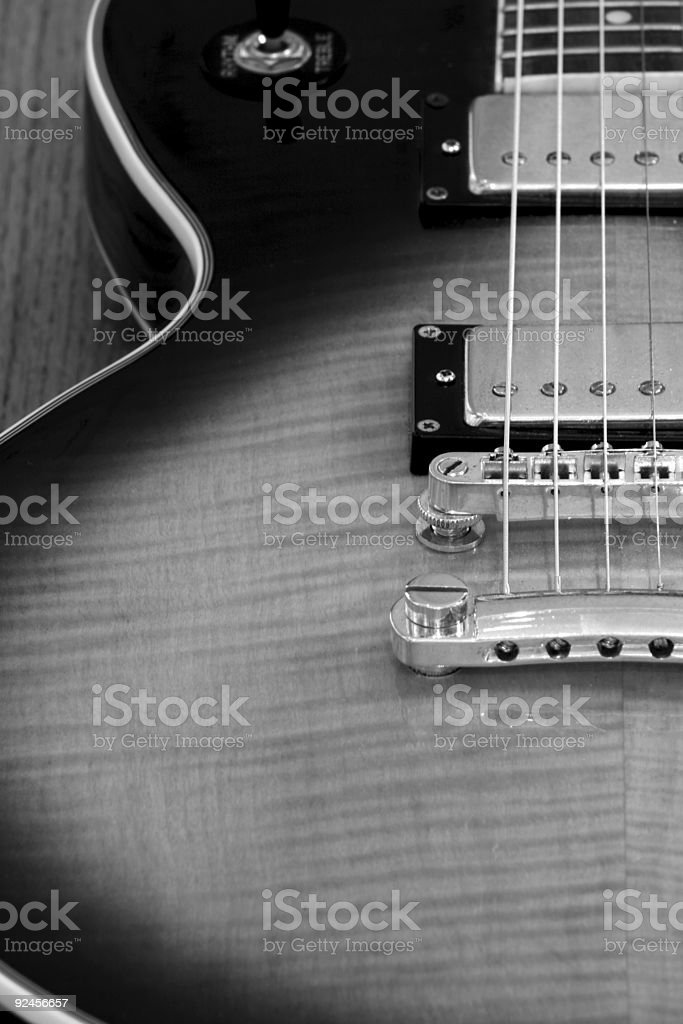Electric Guitar 1 royalty-free stock photo