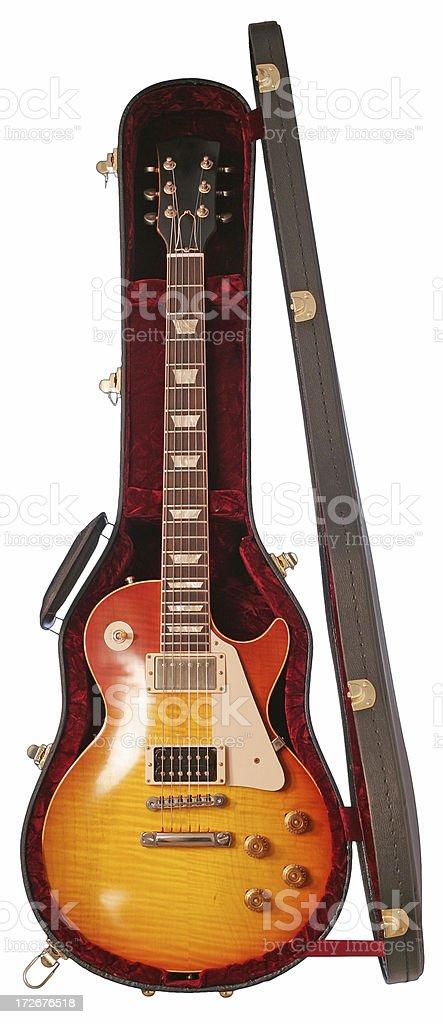 エレキギターの場合 ロイヤリティフリーストックフォト