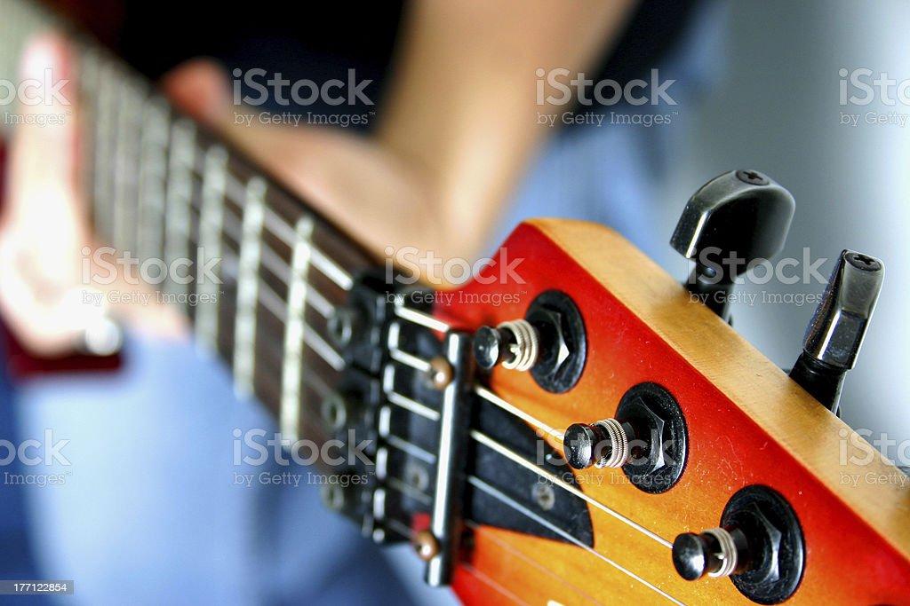 Electric Guitar Lizenzfreies stock-foto