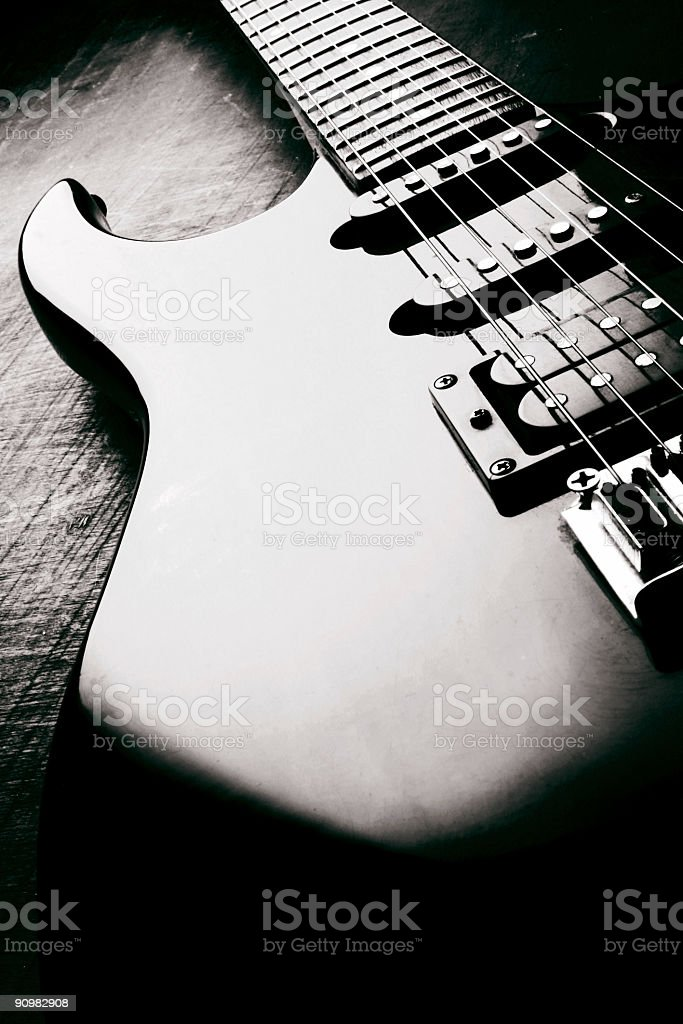 electric guitar #2 royalty-free stock photo