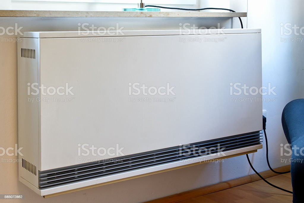 Electric heating stock photo