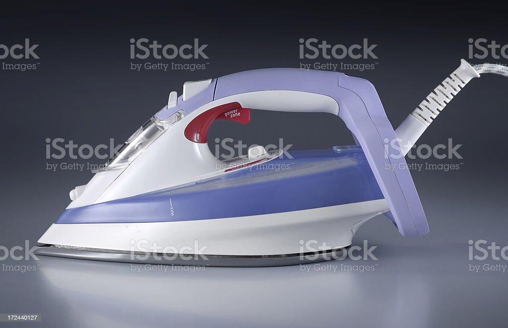 Electric iron royalty-free stock photo