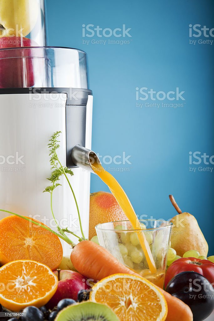 Electric Juicer stock photo