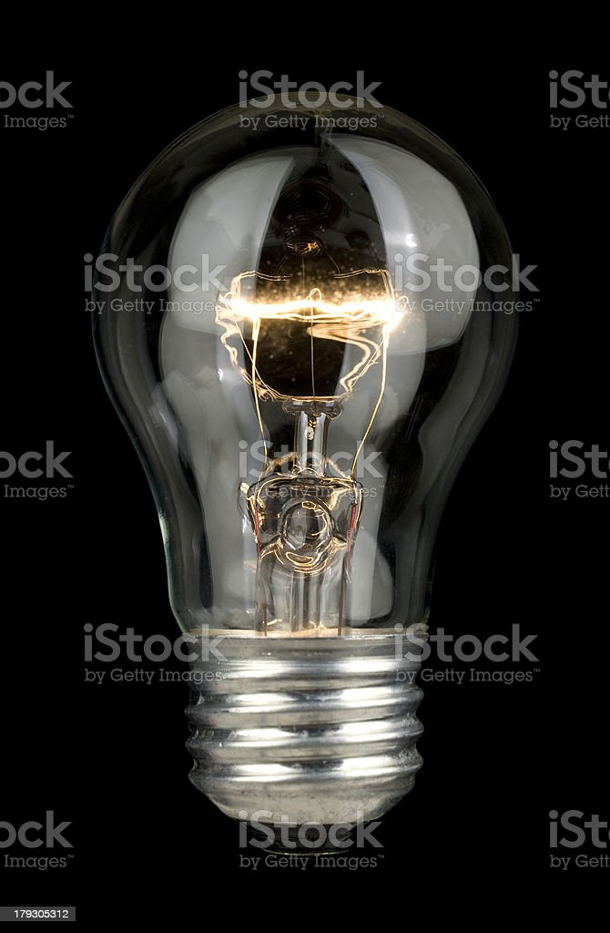 Electric Light Bulb. royalty-free stock photo