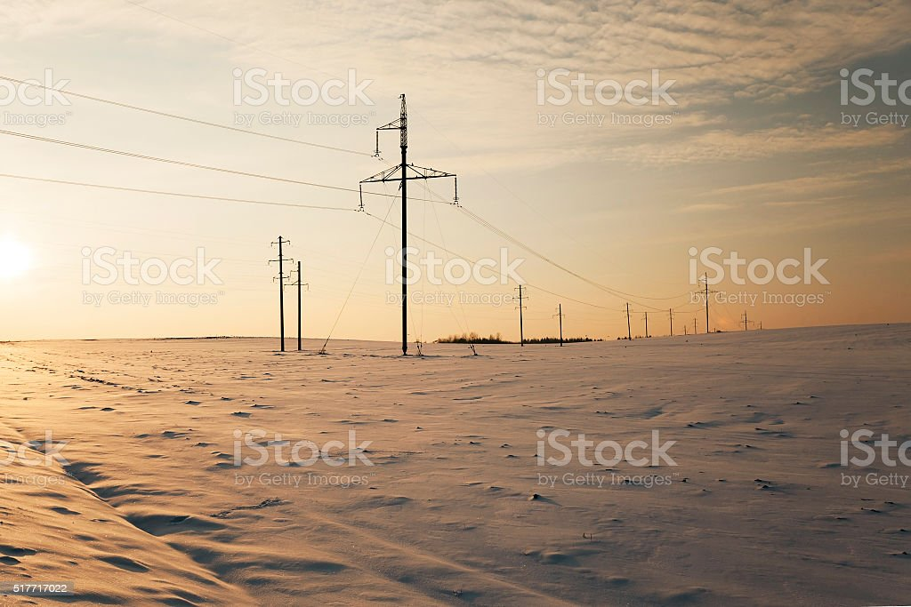 electric lines, power stock photo