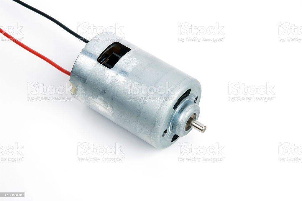 Electric Motor DC stock photo
