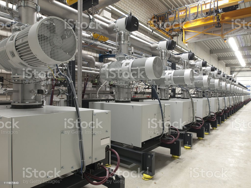 Electric Motors stock photo