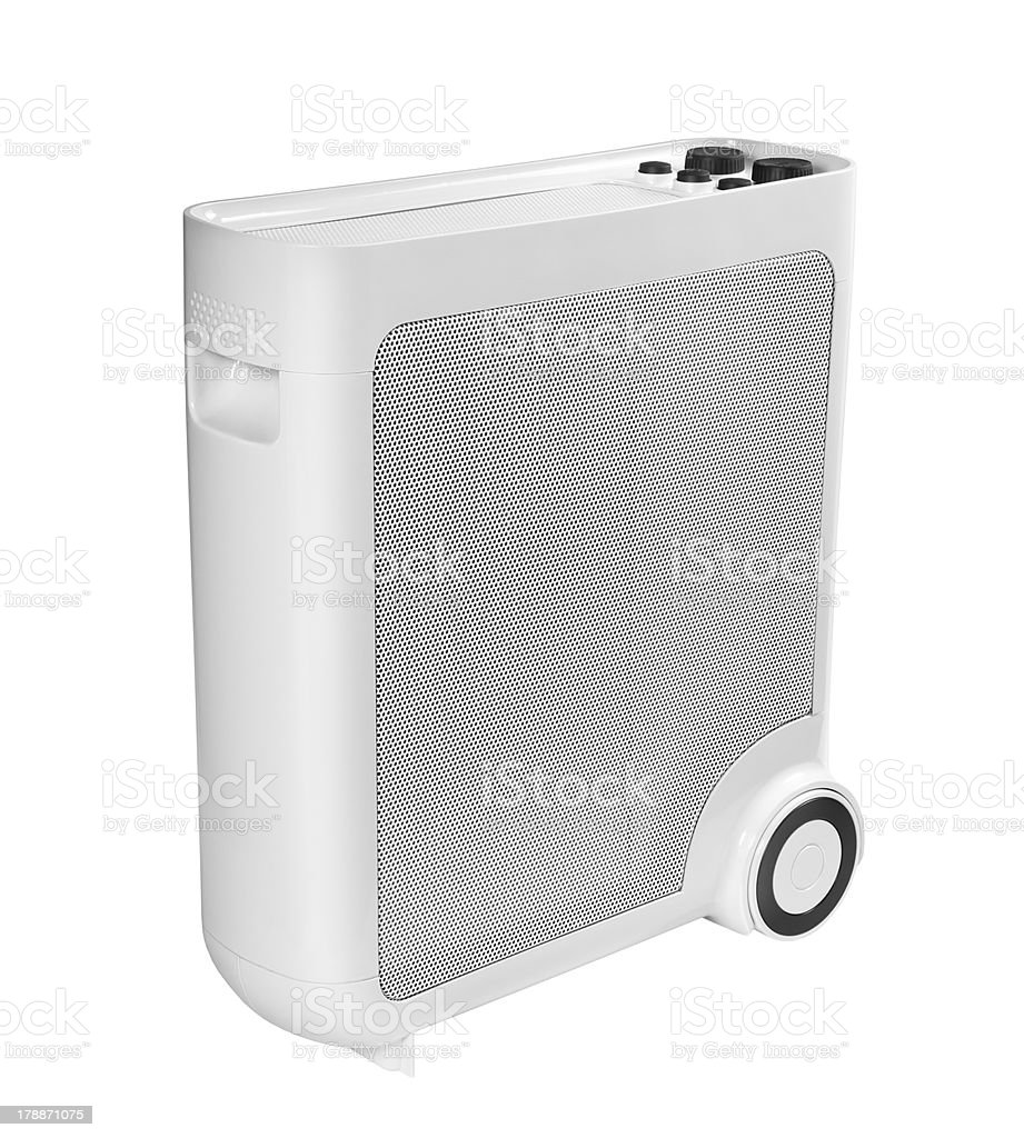 Electric oil heater royalty-free stock photo