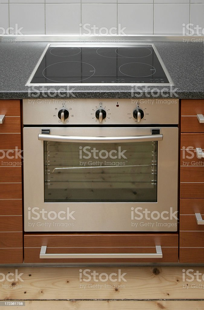 electric oven royalty-free stock photo
