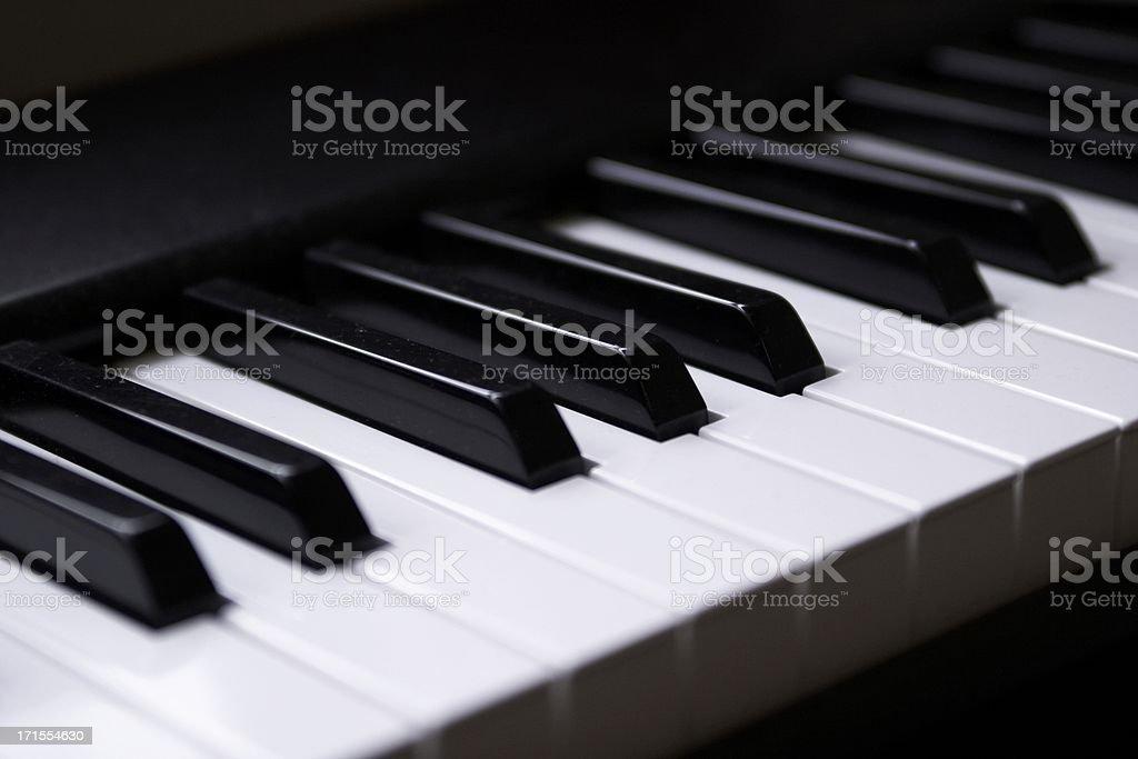 electric piano stock photo