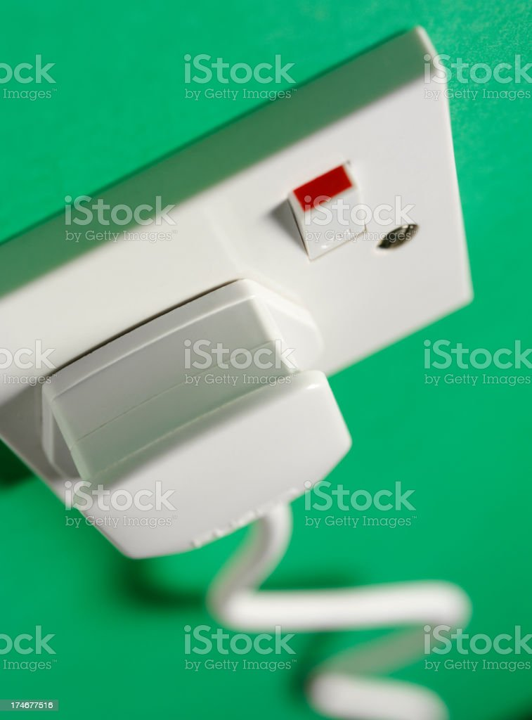 Electric Plug and Socket royalty-free stock photo