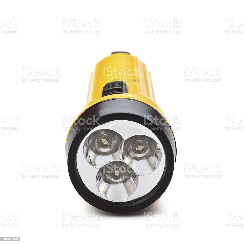 Electric Pocket Flashlight royalty-free stock photo