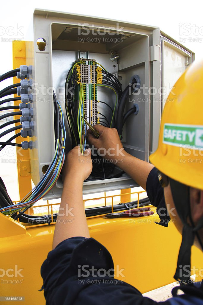 electric point stock photo